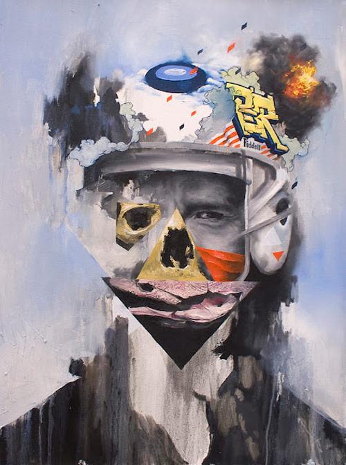 Artist painter Joram Roukes