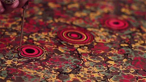 Turkish Paper Marbling