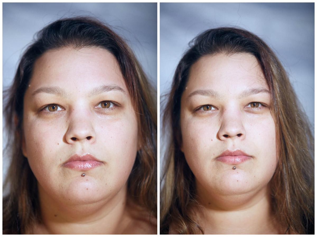 Naked Faces by Photographer Dylan Hamm - BOOOOOOOM