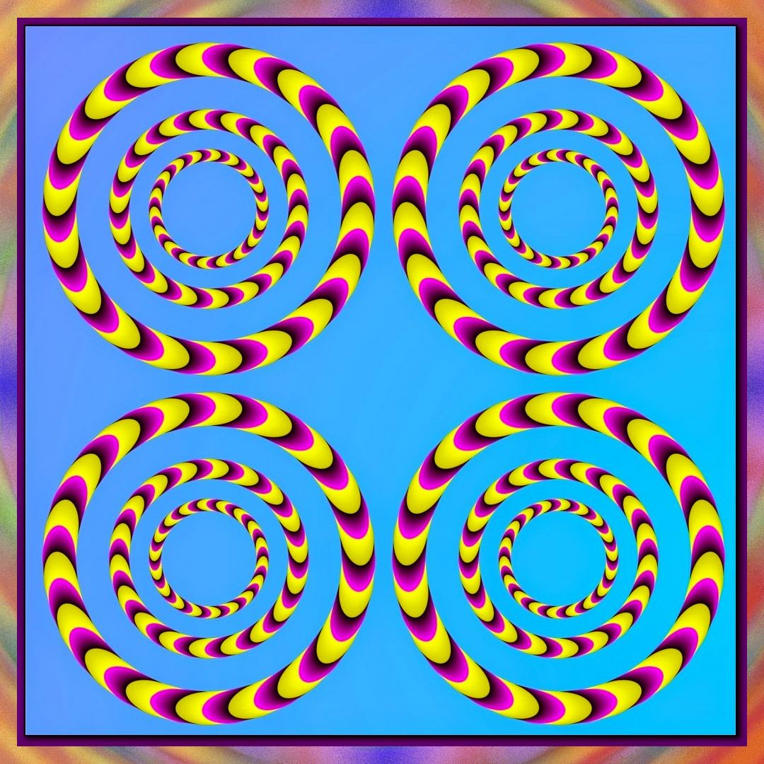 optical illusions trippy phone crazy animated psychedelic go wallpapers artist appear want music film dodowallpaper