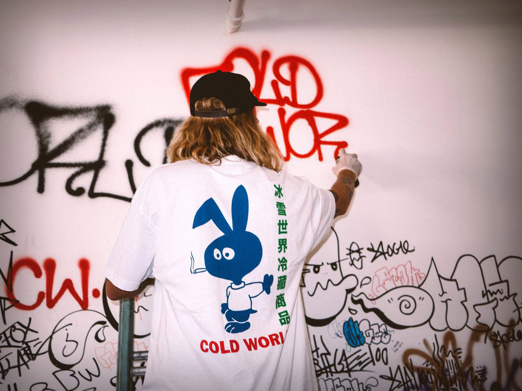 Cold World Frozen Goods clothing company based in Vancouver