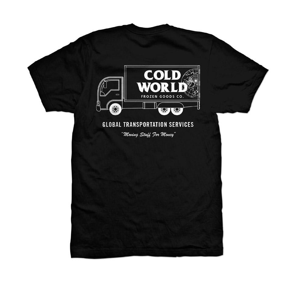 Cold World Frozen Goods - clothing company based in Vancouver