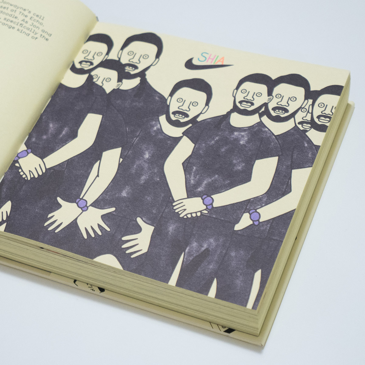 Shia LaBeouf — Gangster Doodles book