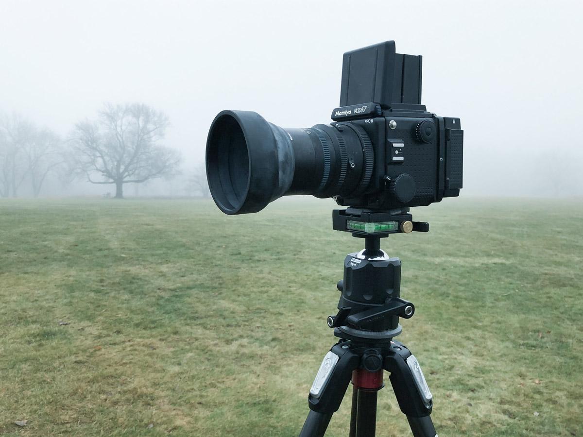 Photographer Lane Coder's Mamiya RZ 67 Pro II