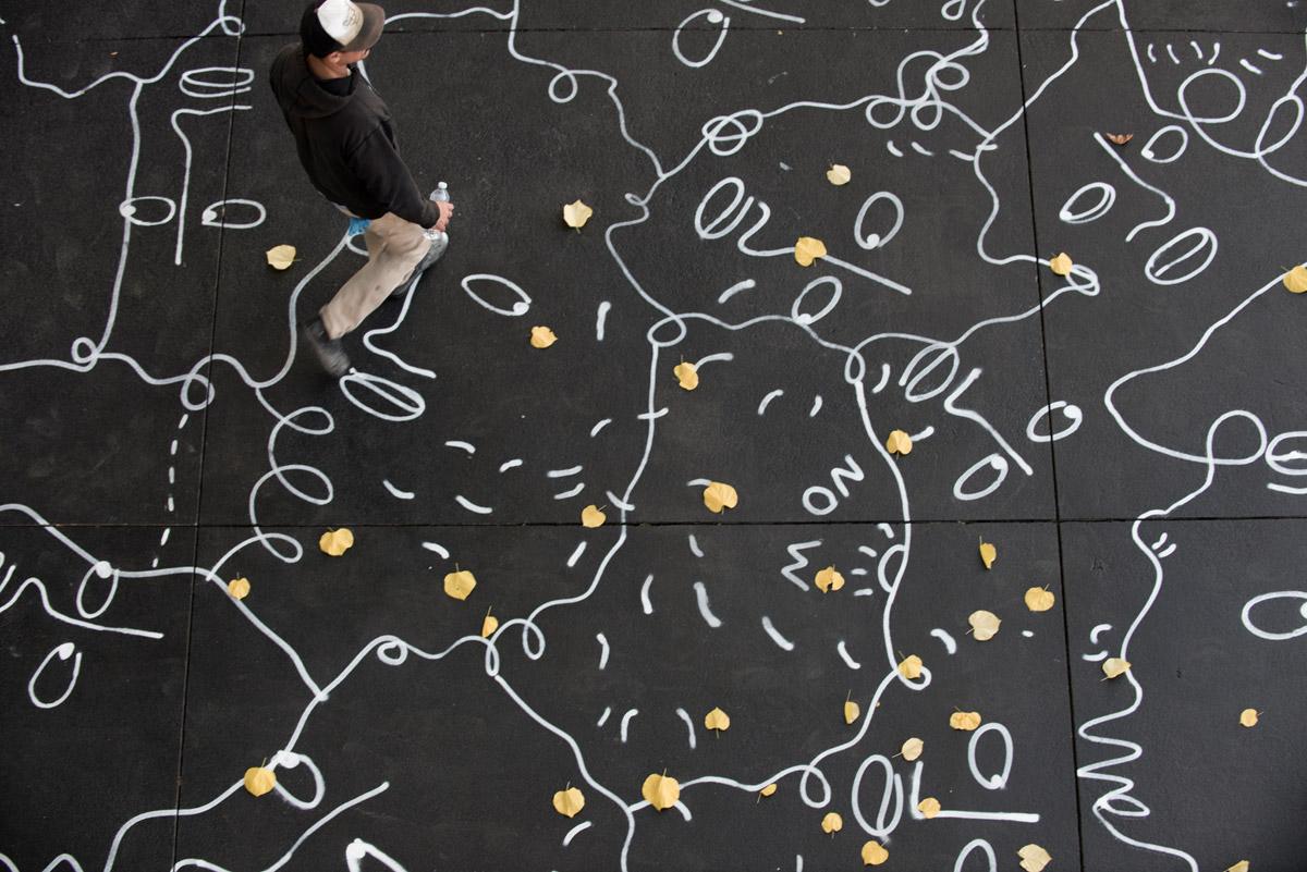 Artist Shantell Martin