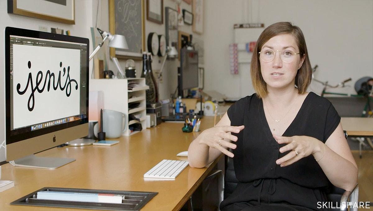 Jessica Hische Skillshare Masterclass