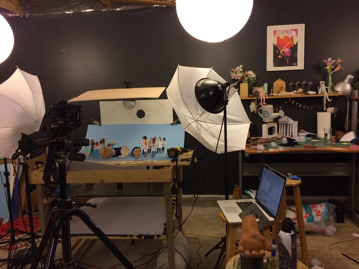 Rare studio shot