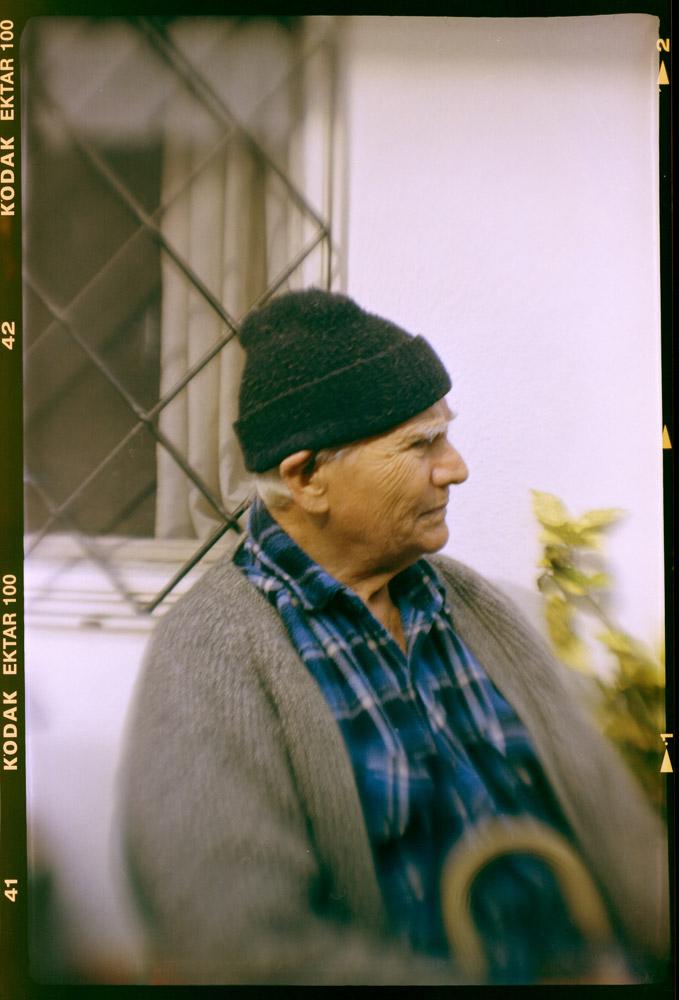 My Grandfather, age 91 (2016)