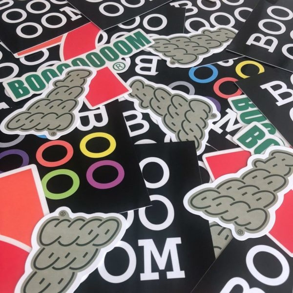 Booooooom Stickers
