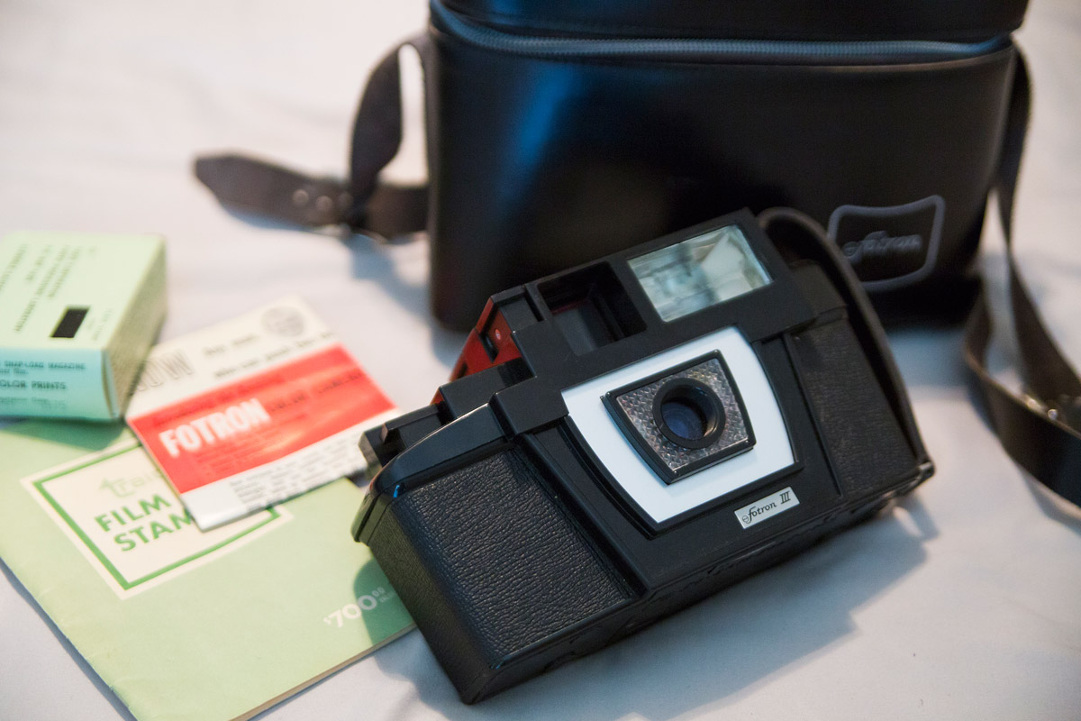 André Woodard's Fotron III camera