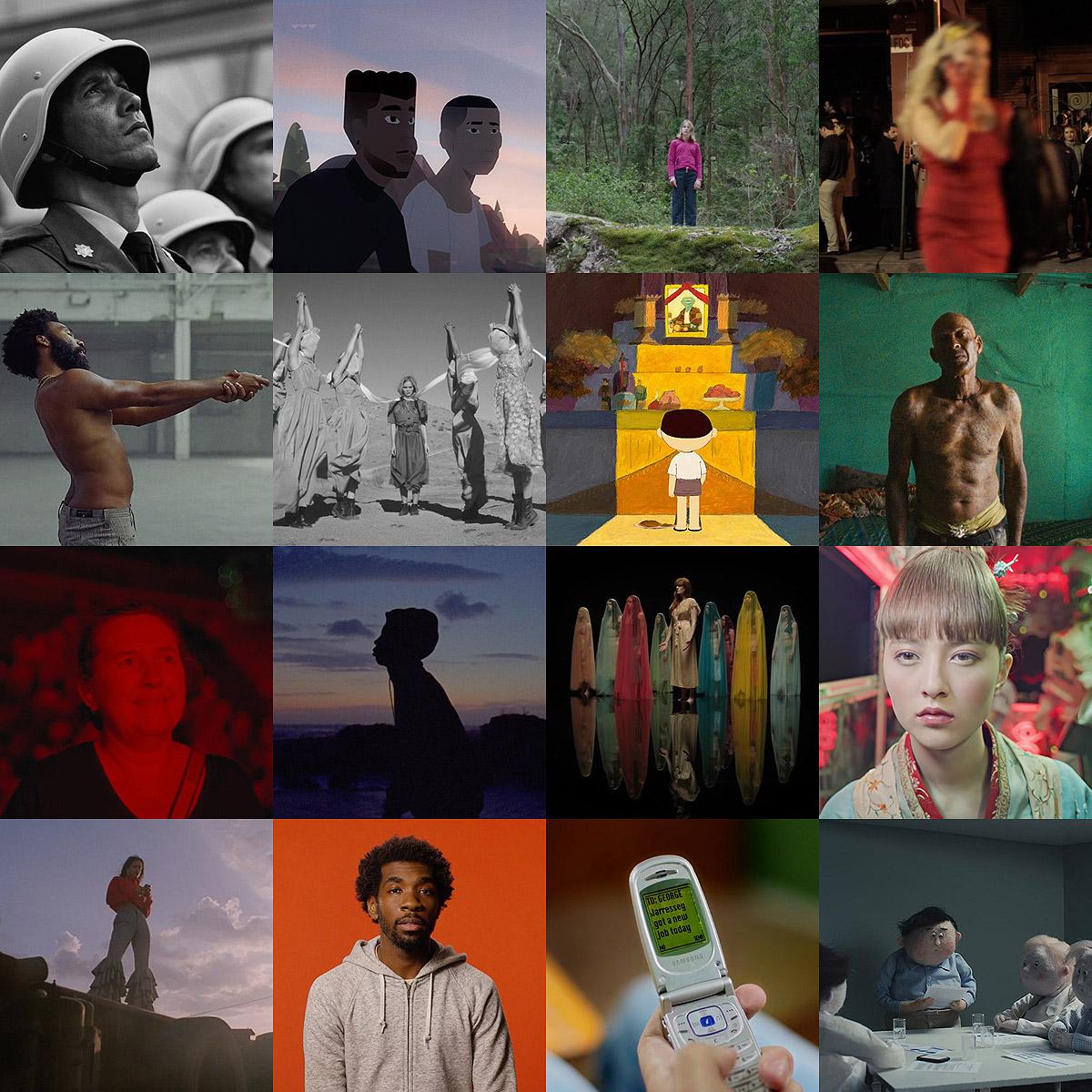 Best music videos, short films, animation of 2018
