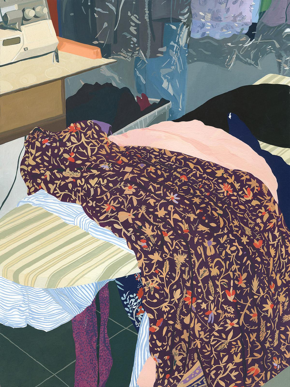 "Coleção ""Five Dresses"" de Caitlyn Murphy Artes & contextos Murphy1"