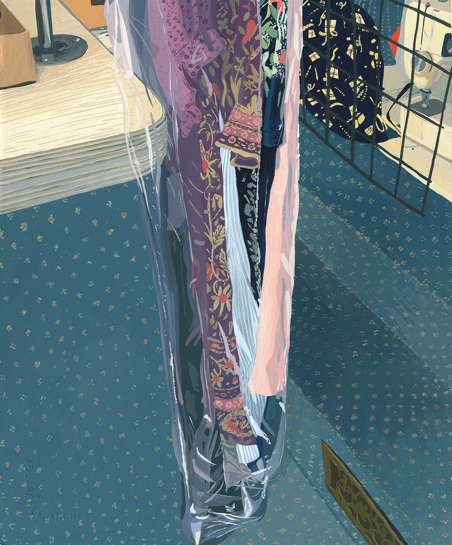 "Coleção ""Five Dresses"" de Caitlyn Murphy Artes & contextos Murphy14"