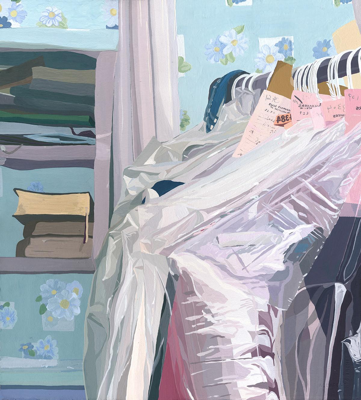 "Coleção ""Five Dresses"" de Caitlyn Murphy Artes & contextos Murphy4"