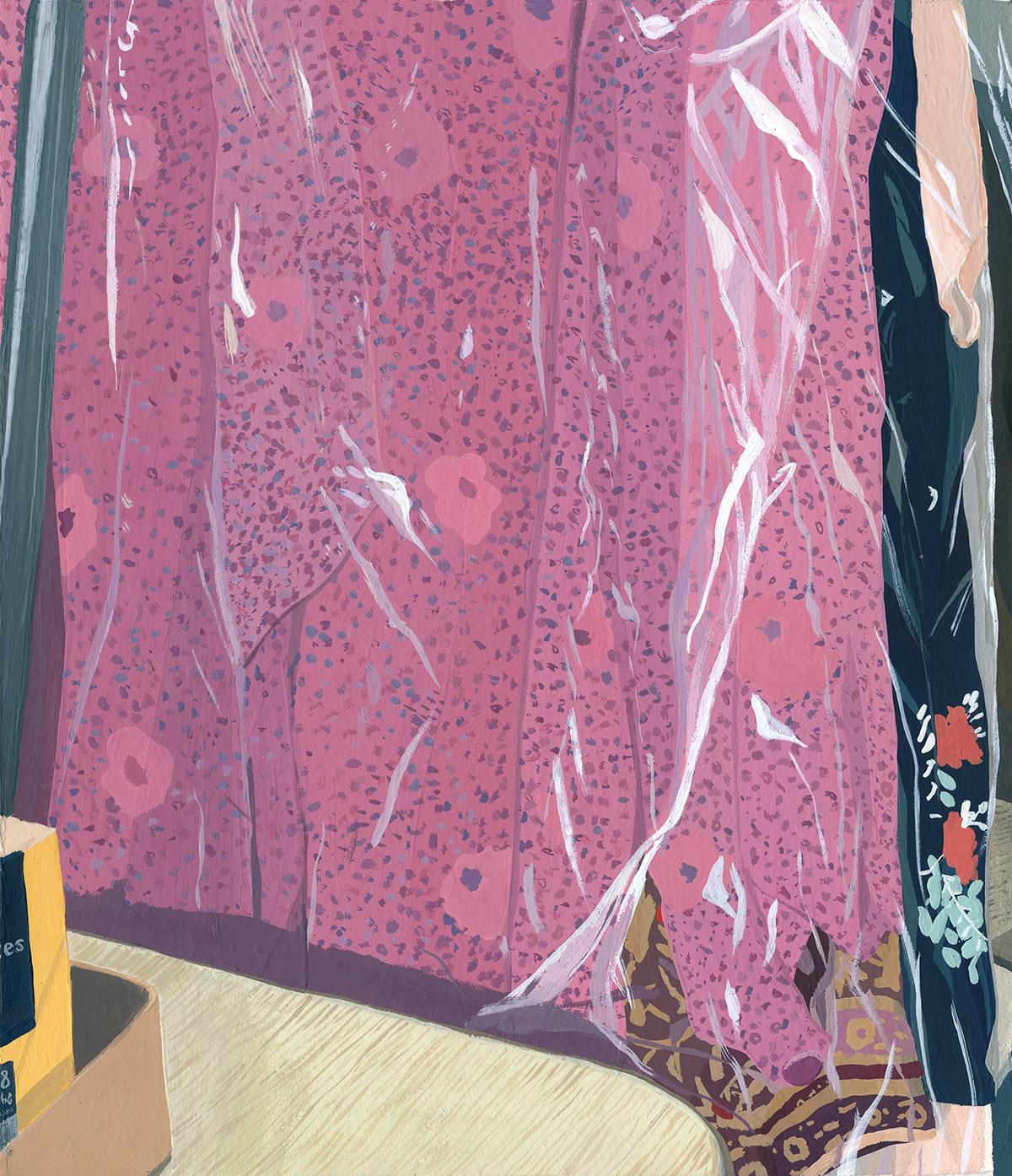 "Coleção ""Five Dresses"" de Caitlyn Murphy Artes & contextos Murphy5"
