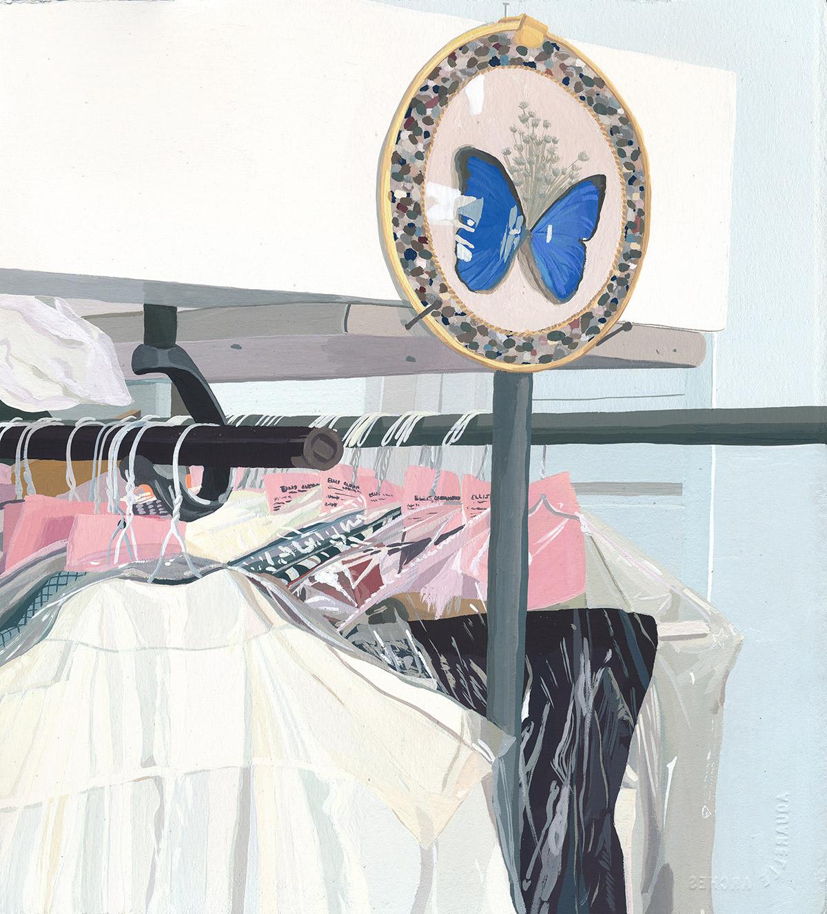 "Coleção ""Five Dresses"" de Caitlyn Murphy Artes & contextos Murphy8"