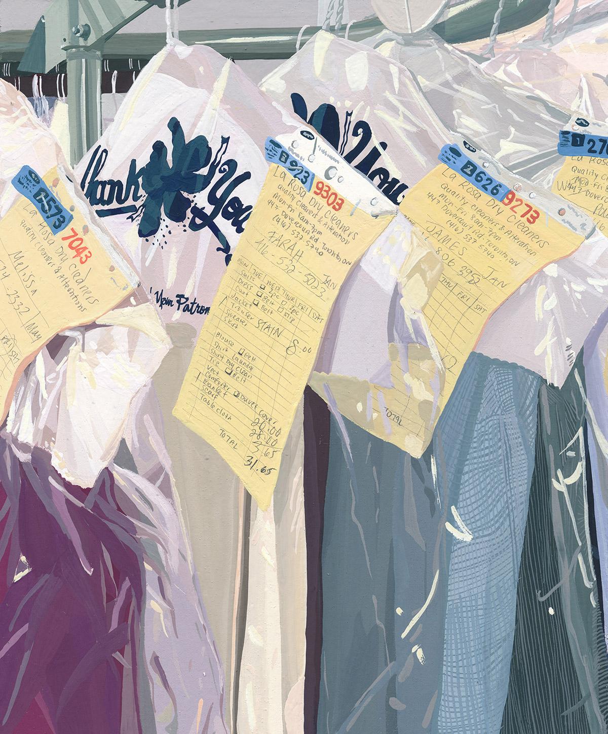 "Coleção ""Five Dresses"" de Caitlyn Murphy Artes & contextos Murphy9"