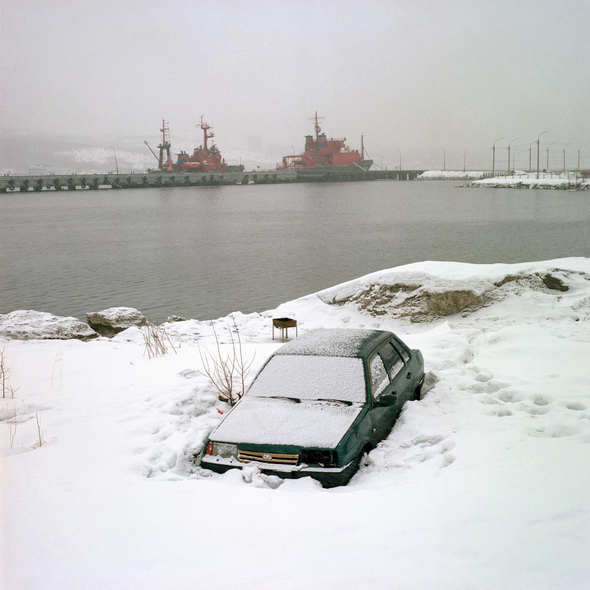 """""""Snow Desert"""" do Fotógrafo Mikhail Lebedev Artes & contextos 05 5"""