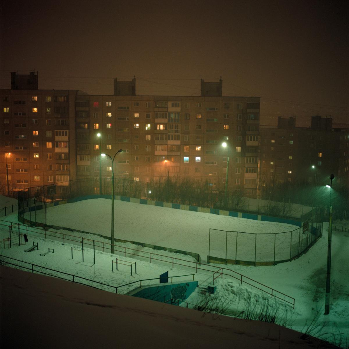 Snow Desert de Mikhail Lebedev